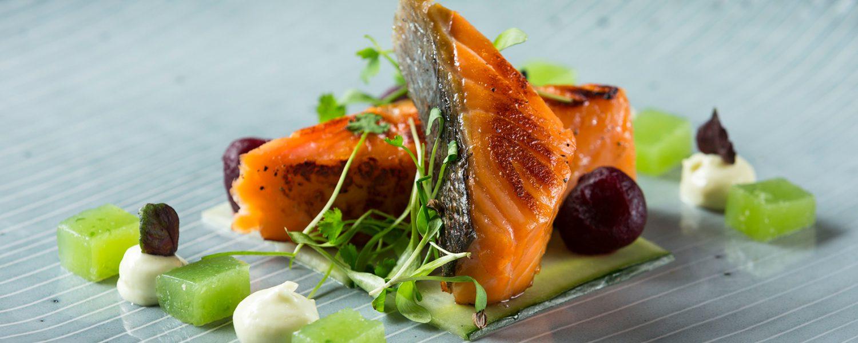 Fresh Fish dish at the Lake Isle Hotel