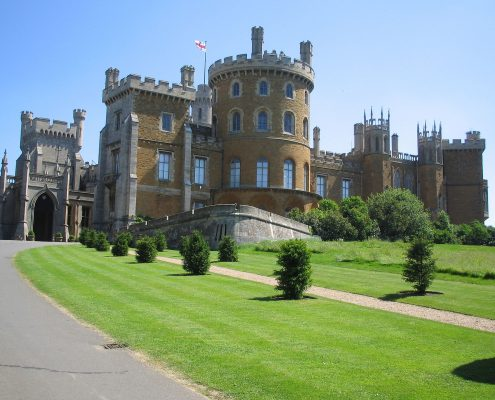 Belvoir Castle fascade