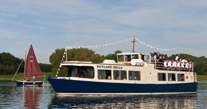 The Rutland Belle on Rutland Water