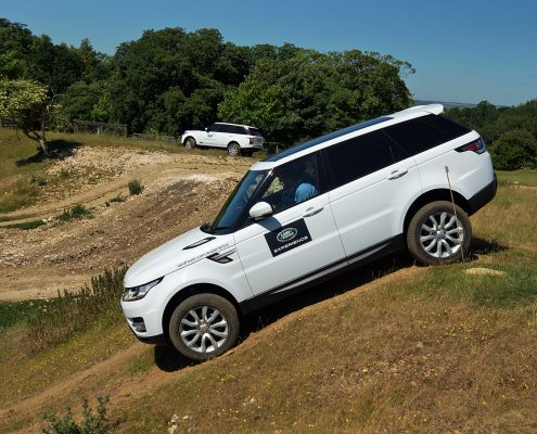 Rockingham Land Rover Experience