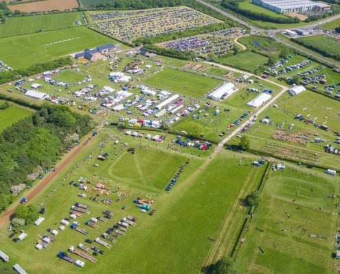 Rutland Country Showground - Aerial View