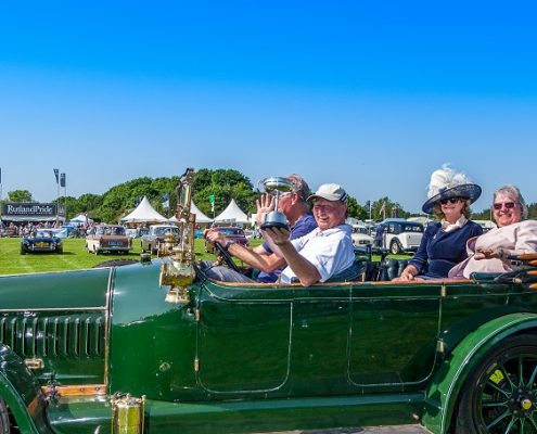 Vintage Car at the Rutland County Show